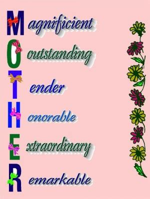 My mother essay in simple English